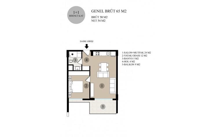 La Perla Suites - 1 slpk